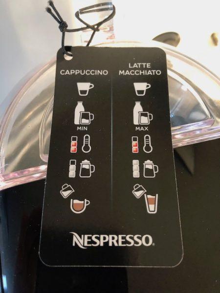 Nespresso Creatista Uno Bedienung