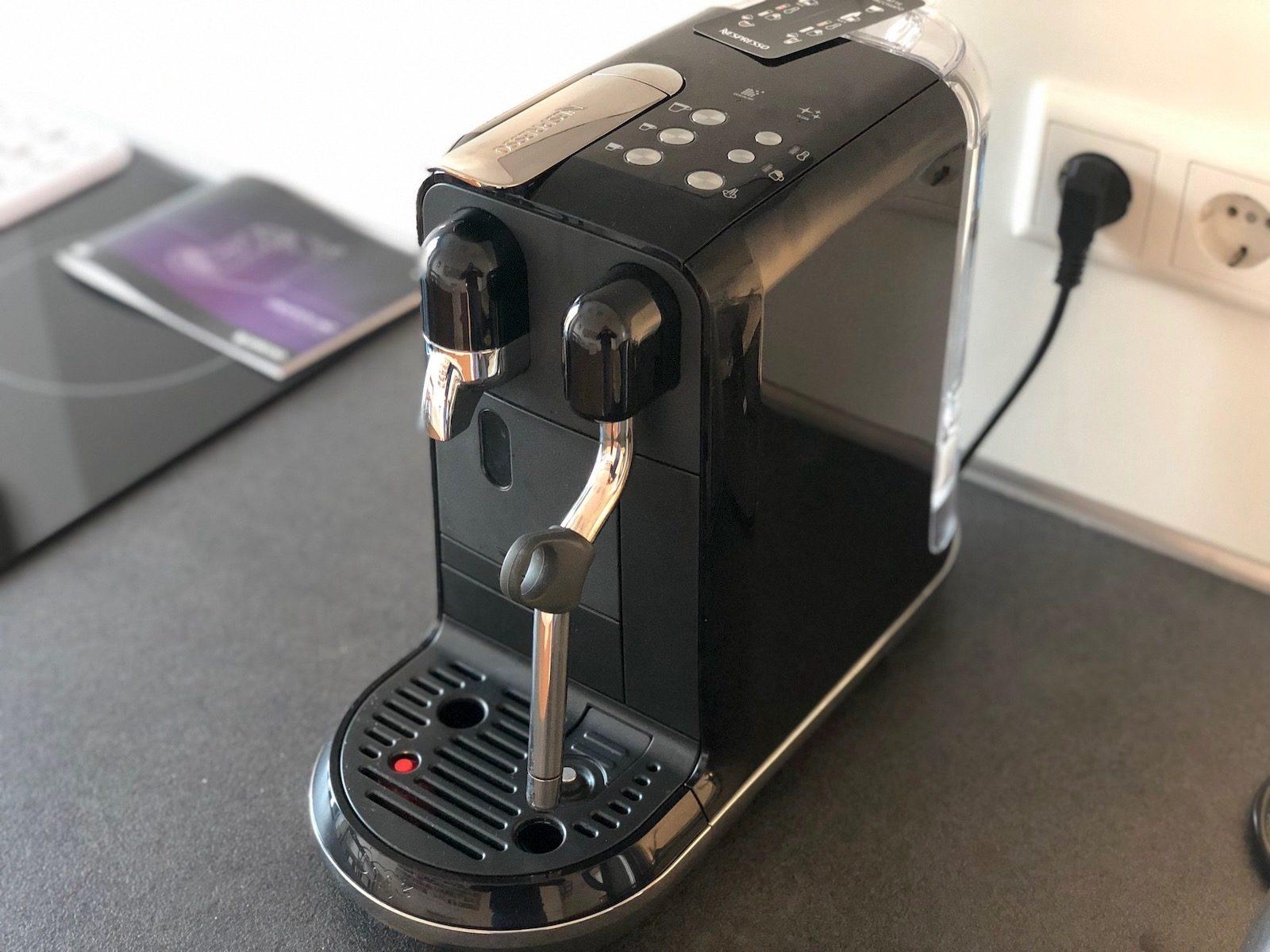 Nespresso Creatista Uno von Sage im Test